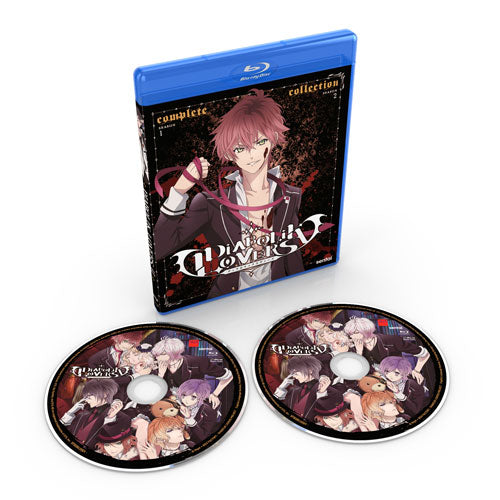 Diabolik Lovers Seasons 1 & 2 Complete Collection Blu-ray Disc Spread