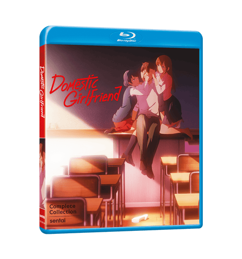 Domestic Girlfriend Complete Collection Blu-ray Front Cover