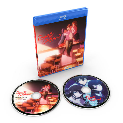 Domestic Girlfriend Complete Collection Blu-ray Disc Spread