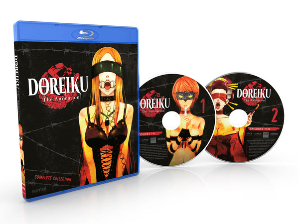 DOREIKU: The Animation Complete Collection Blu-ray Disc Spread