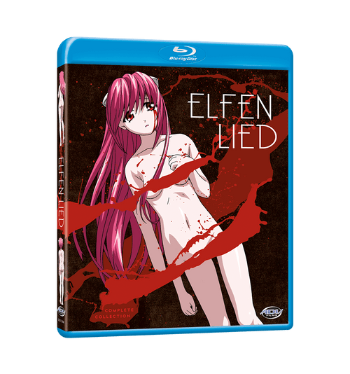 Elfen Lied Complete Collection Blu-ray Front Cover