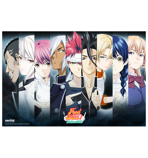 Food Wars! Summer Poster Set