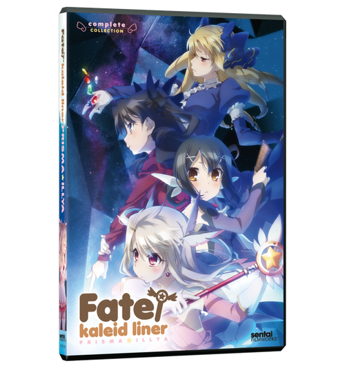 Fate/Kaleid Liner Prisma Illya Complete Collection DVD Front Cover