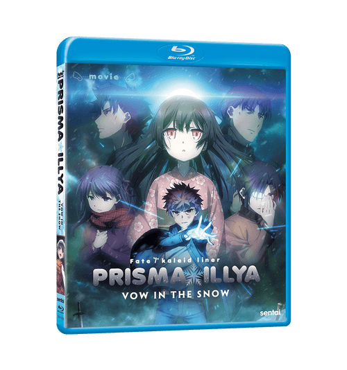 Fate/kaleid liner Prisma Illya: Vow in the Snow Blu-ray Front Cover