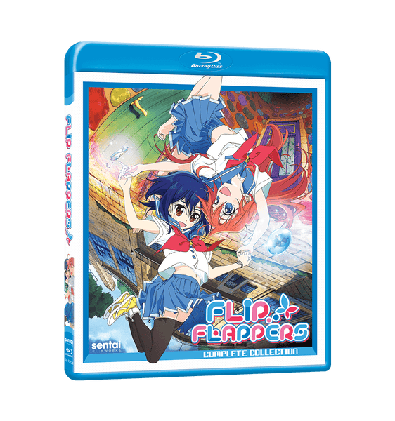 FLIP FLAPPERS! Complete Collection Blu-ray Front Cover