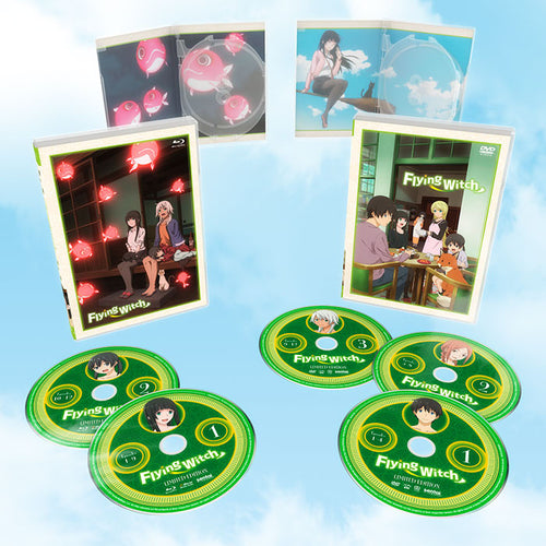 Flying Witch Premium Box Set Blu-ray and DVD