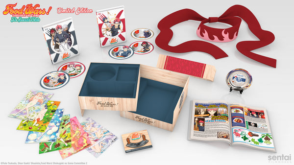 Food Wars! The Second Plate Premium Box Set Spread