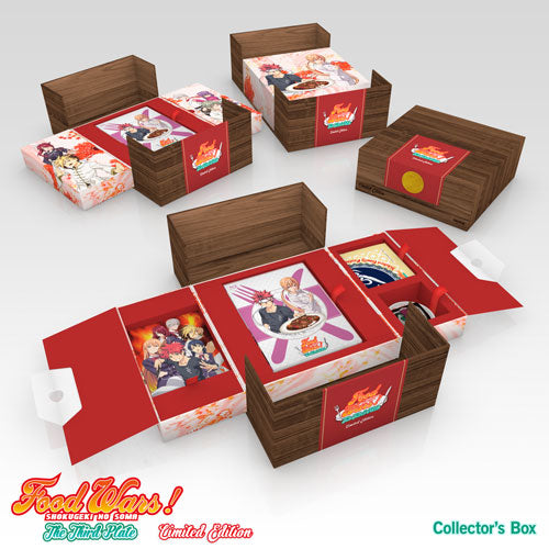Food Wars! The Third Plate Premium Box Set Collector's Box