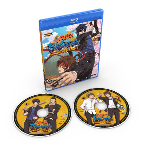 Gakuen Basara: Samurai High School Complete Collection Blu-ray Disc Spread