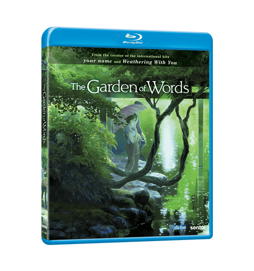 Garden of Words, The Blu-ray Front Cover