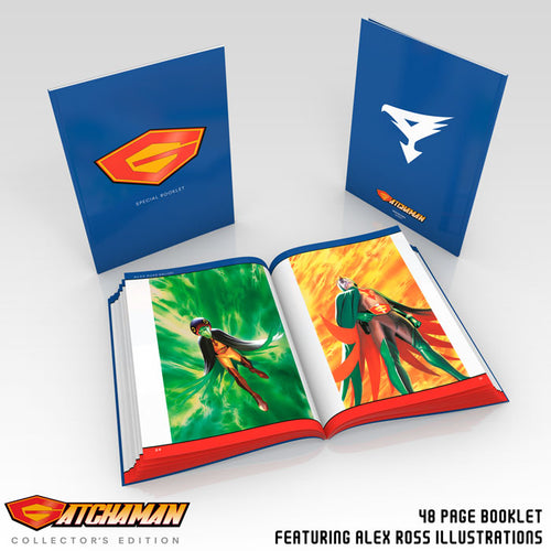 Gatchaman Collector's Edition Booklet