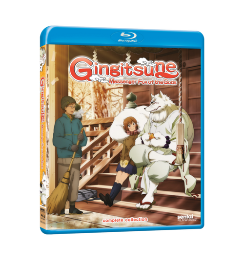 Gingitsune Complete Collection Blu-ray Front Cover
