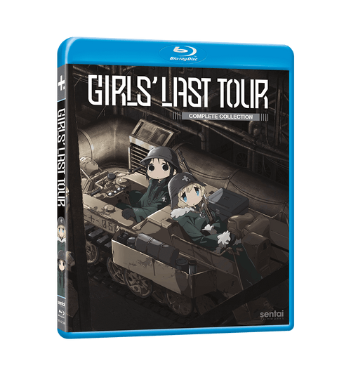 Girls' Last Tour Complete Collection Blu-ray Front Cover