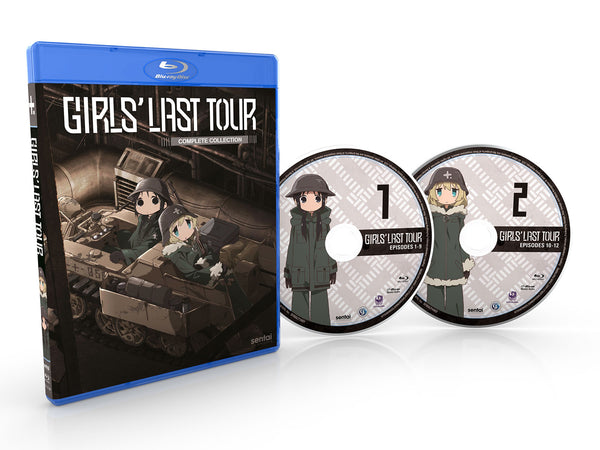 Girls' Last Tour Complete Collection Blu-ray Disc Spread
