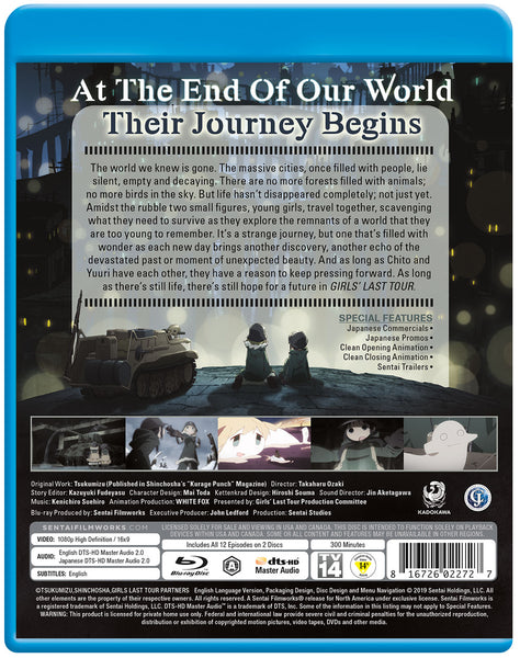 Girls' Last Tour Complete Collection Blu-ray Back Cover