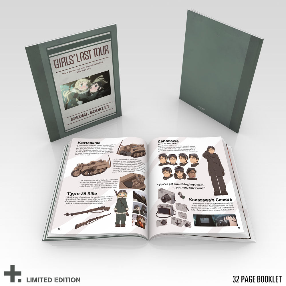 Girls' Last Tour Premium Box Set Booklet