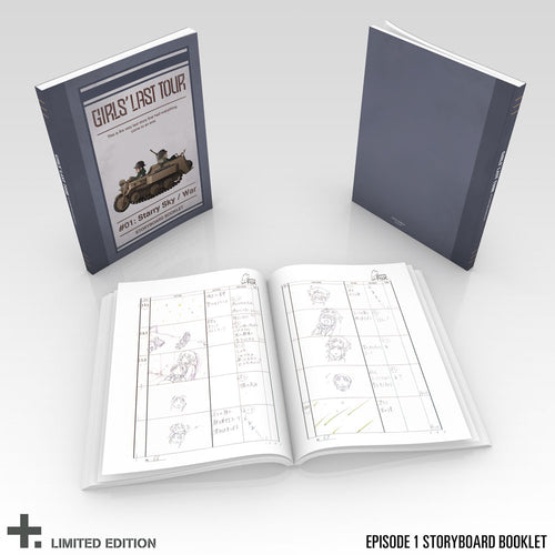 Girls' Last Tour Premium Box Set Episode 1 Storyboard Book