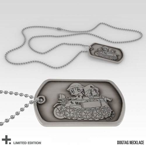 Girls' Last Tour Premium Box Set Dog Tag Necklace