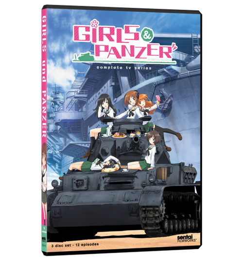 Girls und Panzer Complete Collection DVD Front Cover