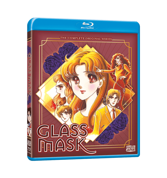 Glass Mask (1984) Complete Collection Blu-ray Front Cover