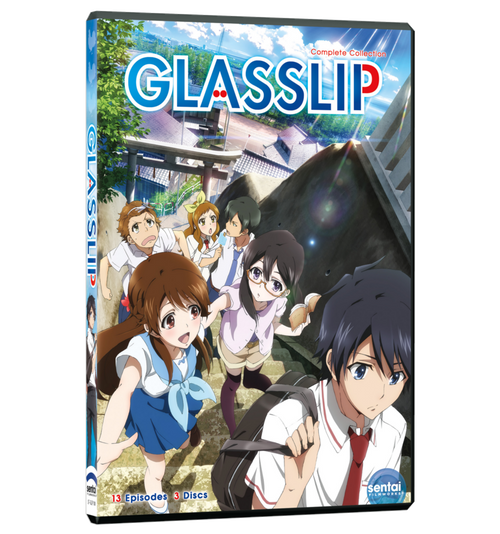 Glasslip Complete Collection DVD Front Cover
