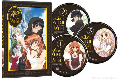 Good Witch of the West Complete Collection DVD Disc Spread