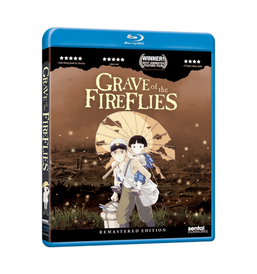 Grave of the Fireflies Blu-ray Front Cover