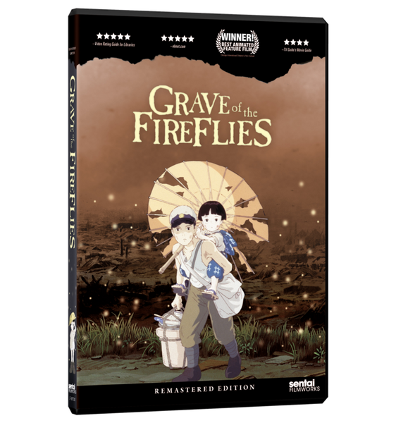 Grave of the Fireflies DVD Front Cover