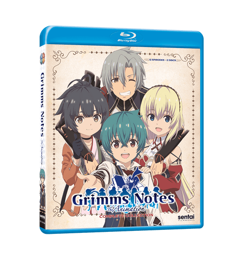 Grimms Notes the Animation Complete Collection Blu-ray Front Cover