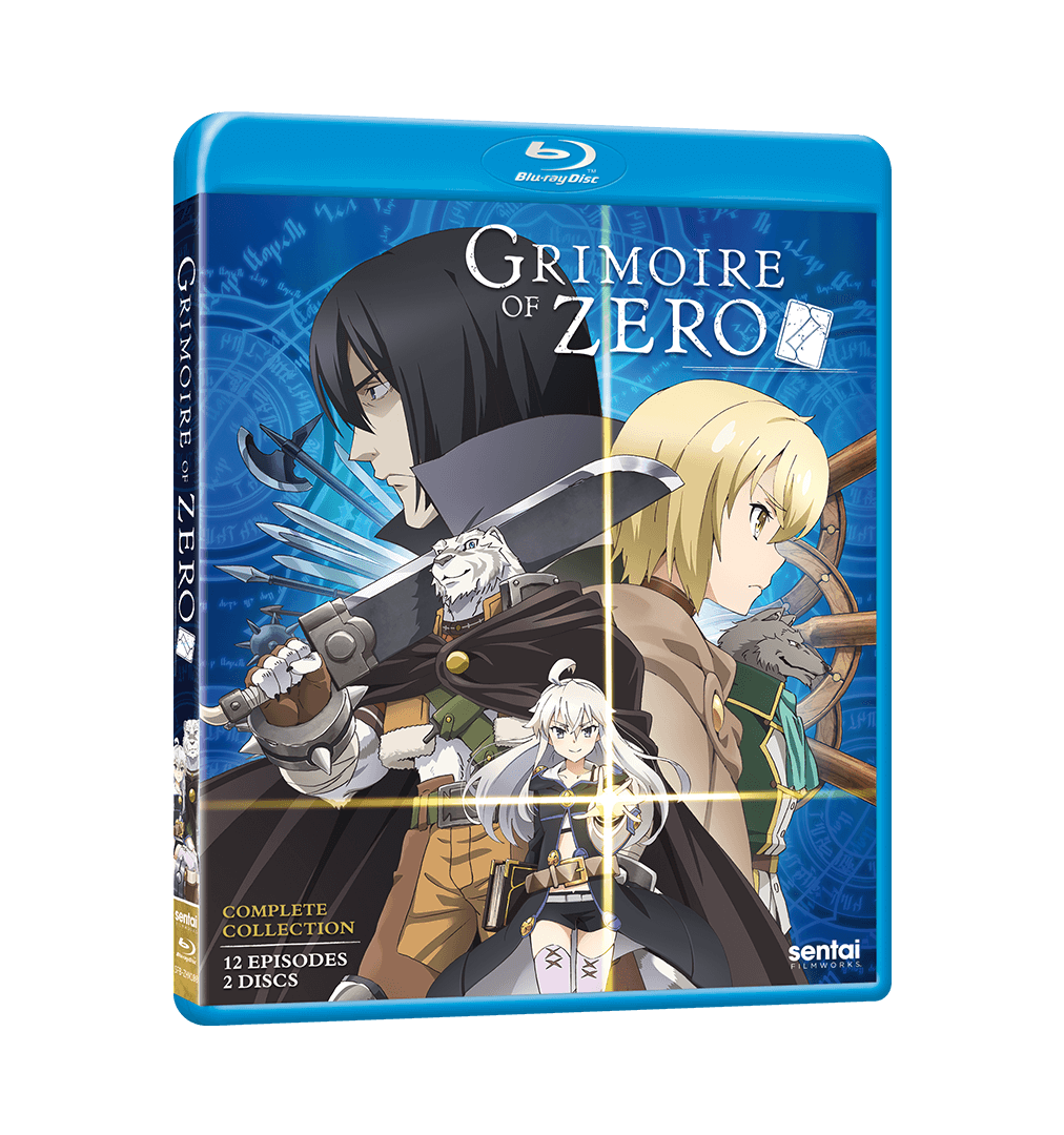 Grimoire of Zero Complete Collection Blu-ray Front Cover