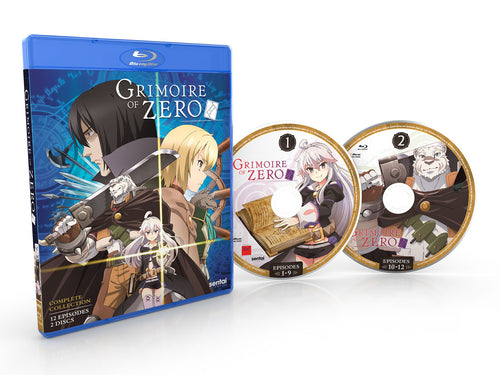 Grimoire of Zero Complete Collection Blu-ray Disc Spread