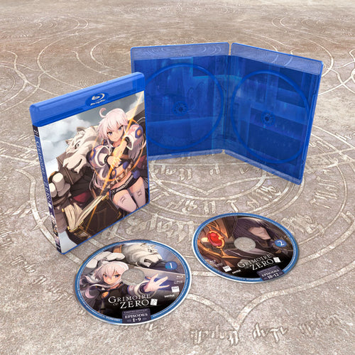 Grimoire of Zero Premium Box Set Blu-ray Disc Spread