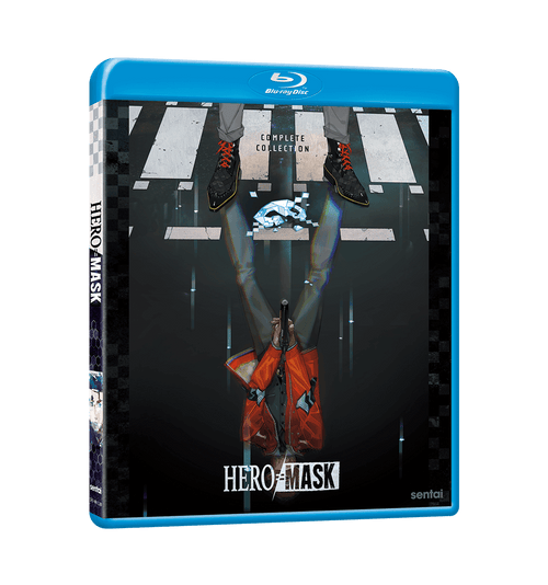 HERO MASK Seasons 1 & 2 Complete Collection Blu-ray Front Cover
