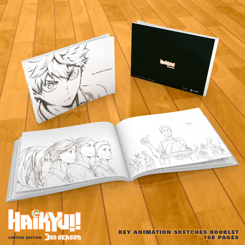 Haikyu!! Season 3 Premium Box Set Sketch Booklet