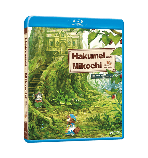 Hakumei & Mikochi Complete Collection Blu-ray Front Cover