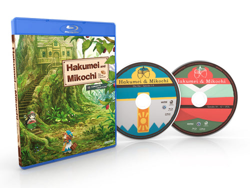Hakumei & Mikochi Complete Collection Blu-ray Disc Spread