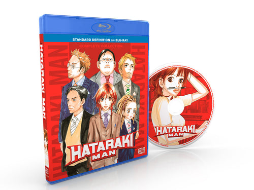 HATARAKI MAN Complete Collection SD Blu-ray Disc Spread
