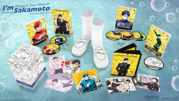 Haven't You Heard? I'm Sakamoto Premium Box Set Spread