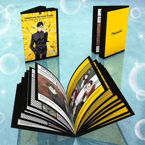 Haven't You Heard? I'm Sakamoto Premium Box Set Booklet