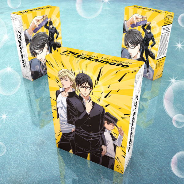 Haven't You Heard? I'm Sakamoto Premium Box Set Extras Box