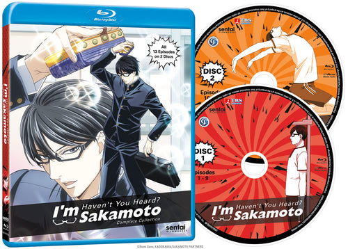 Haven't You Heard? I'm Sakamoto Complete Collection Blu-ray Disc Spread