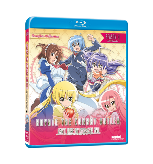 Hayate the Combat Butler: Can't Take My Eyes Off You Complete Collection