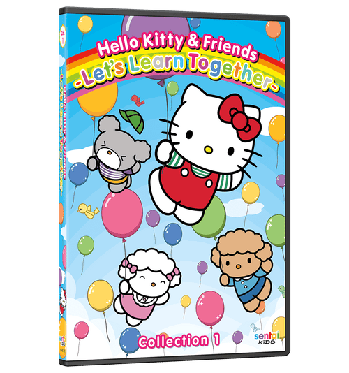 Hello Kitty & Friends – Let's Learn Together Collection 1 DVD Front Cover