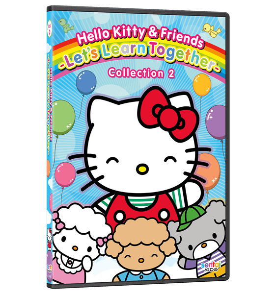 Hello Kitty & Friends – Let's Learn Together Collection 2 DVD Front Cover