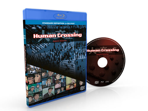 Human Crossing Complete Collection SD Blu-ray Disc Spread