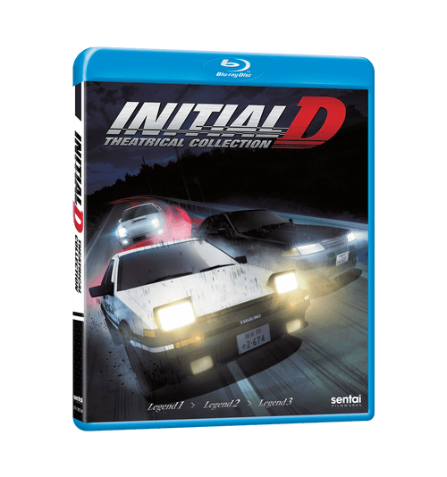 Initial D Legend Theatrical Collection Blu-ray Front Cover