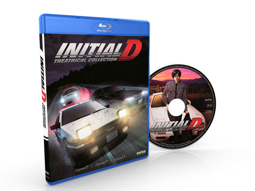 Initial D Legend Theatrical Collection Blu-ray Disc Spread