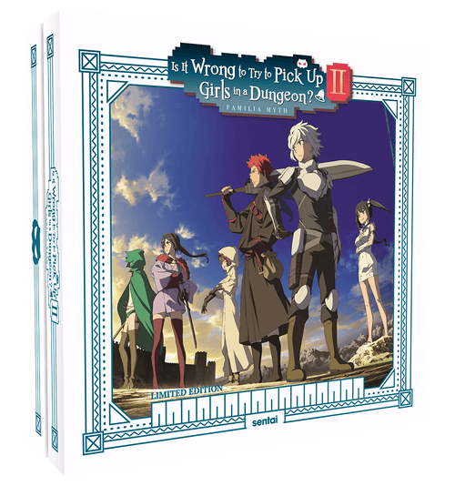 Is It Wrong to Try to Pick Up Girls in a Dungeon? II Premium Box Set