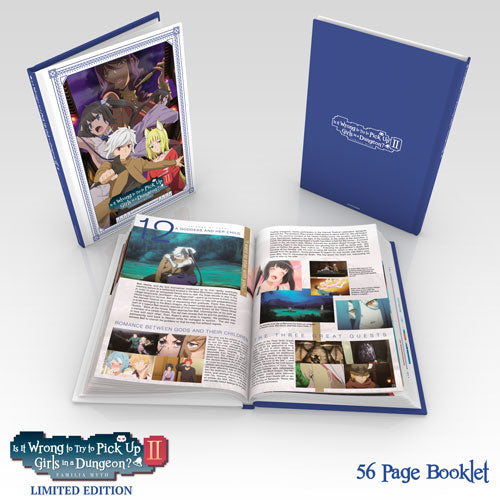 Is It Wrong to Try to Pick Up Girls in a Dungeon? II Premium Box Set Booklet