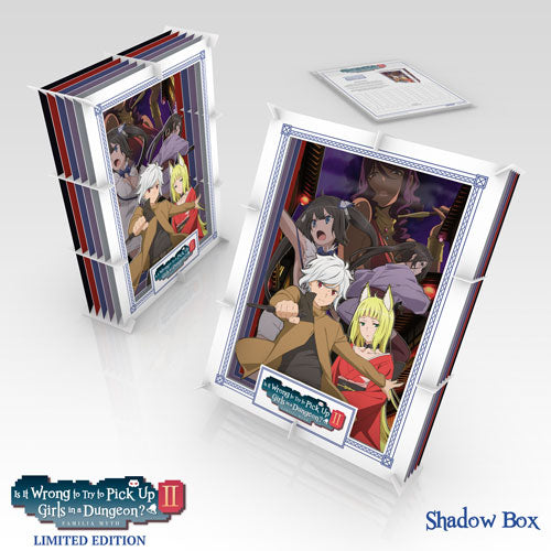 Is It Wrong to Try to Pick Up Girls in a Dungeon? II Premium Box Set Shadow Box